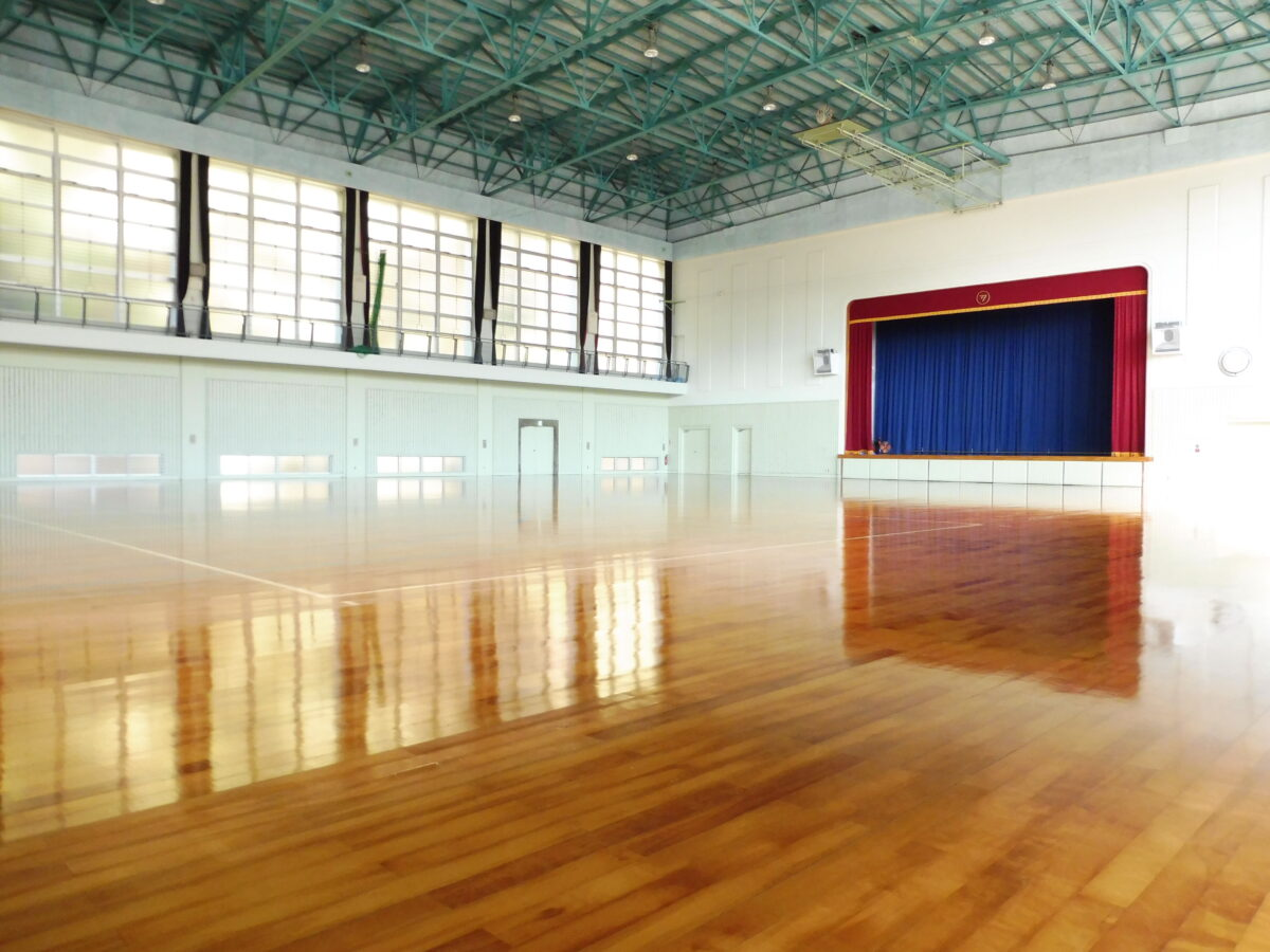 鹿町体育館